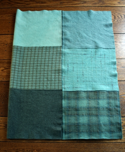 Mary Flanagan Felted Wool Patchwork Quillow Purl Soho