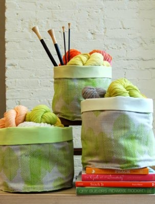 Sewn Stash Baskets | Purl Soho