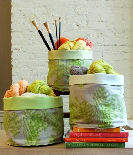 Sewn Stash Baskets