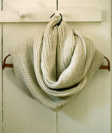 Big Herringbone Cowl | Purl Soho