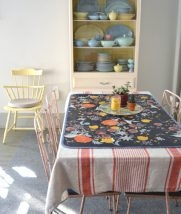 Oilcloth Placemat from Laura Normandin at Wren Handmade | Purl Soho