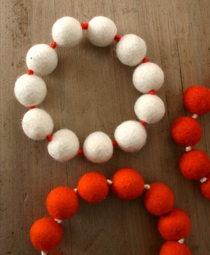 Felt Ball Trivets - Purl Soho