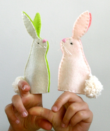 Bunny Finger Puppets! | Purl Soho