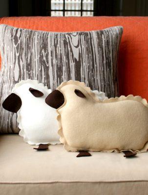 Little Lamb Pillows | Purl Soho