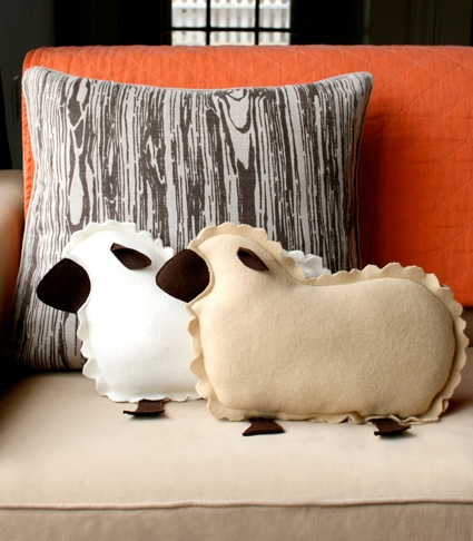 Little Lamb Pillows | Purl Soho