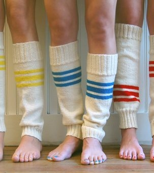 Tube Sock Leg Warmers | Purl Soho