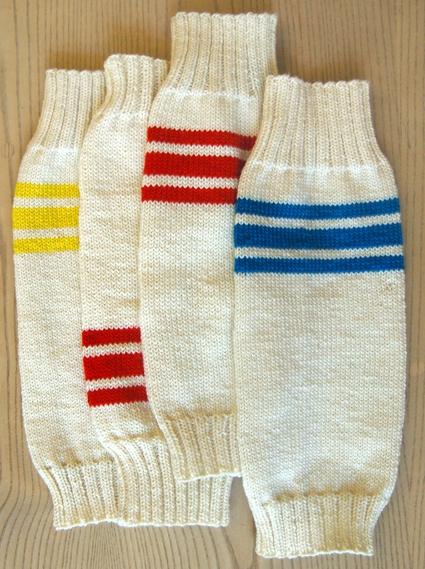 Knitting Pattern For Tube Socks : Tube Sock Leg Warmers Purl Soho