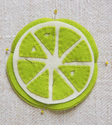 Citrus Coasters | Purl Soho