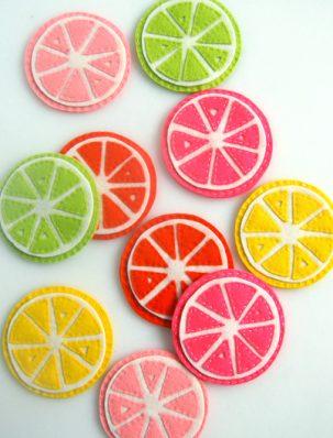 Citrus Coasters | Purl Soho