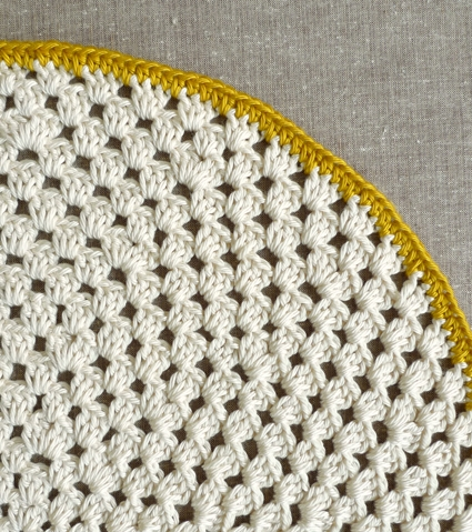 Granny Circle Placemats Purl Soho