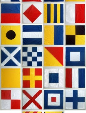 Nautical Flag Napkins | Purl Soho