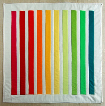 Mini Quilt of the Month, June: The Rainbow Quilt | Purl Soho