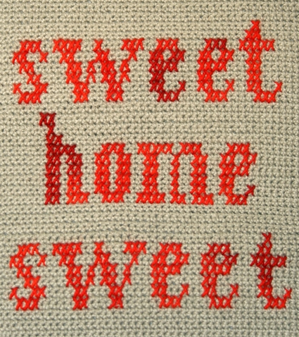 Sweet Home Sweet Pillow | Purl Soho