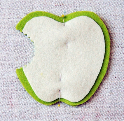 Apple Coasters | Purl Soho
