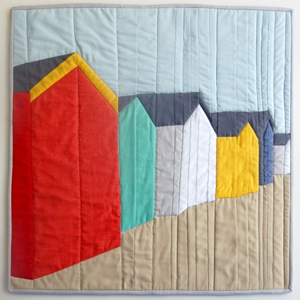 Mini Quilt of the Month, August:  Piecing a Photograph | Purl Soho