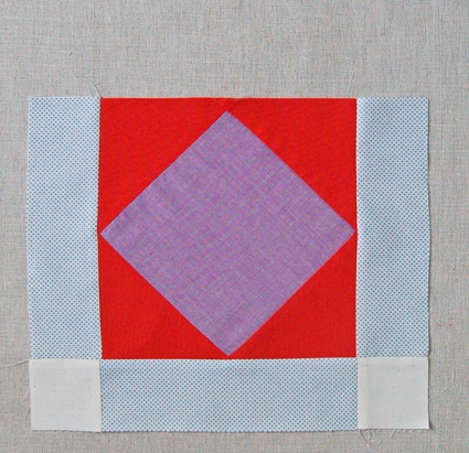 Quilt of the Month, October: Amish Diamond | Purl Soho : amish diamond quilt pattern - Adamdwight.com