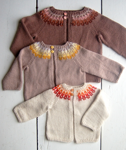 Baby Girl Fair Isle Cardigan | Purl Soho