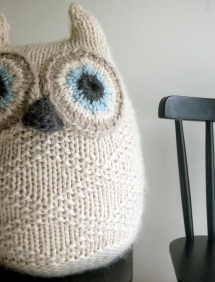 Big Snowy Owl Purl Soho