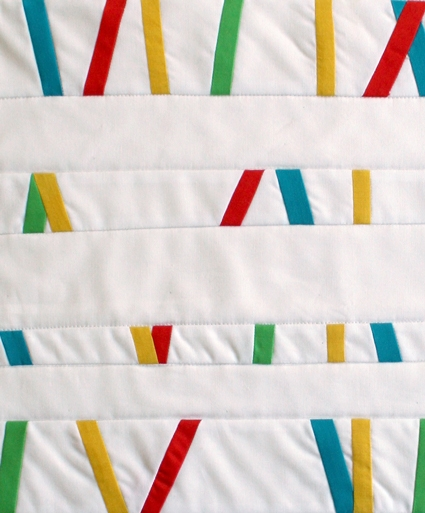 Mini Quilt of the Month, September: Bright Bits | Purl Soho