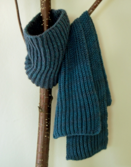 Fisherman s Rib Scarf and Cowl Purl Soho