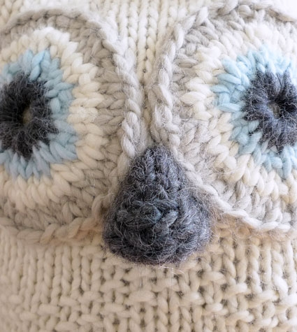 Snowy Owl Knitting Pattern : Big Snowy Owl Purl Soho