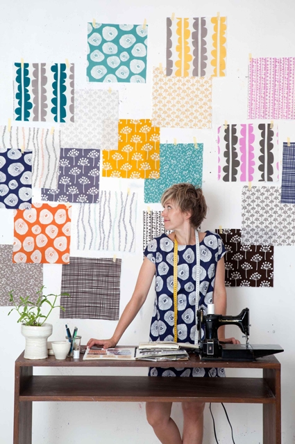Windham Presents Echo! A New Fabric Line by Lotta Jansdotter | Purl Soho