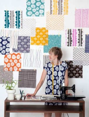 You're Invited! Launch Party for Lotta Jansdotter's Brand New Fabric Line, Echo! | Purl Soho