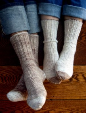 Homespun Boot Socks | Purl Soho