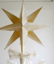 Felt Star Pendant + Tree Topper | Purl Soho