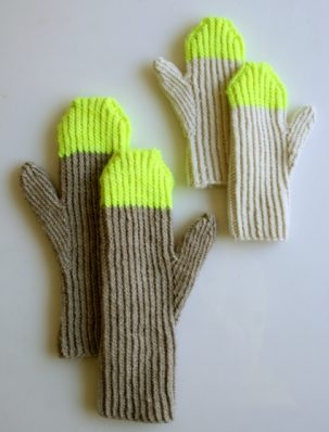 Paint Pail Mittens | Purl Soho