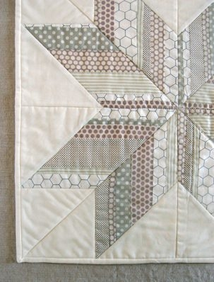 Mini Quilt of the Month, November: Striped Star | Purl Soho