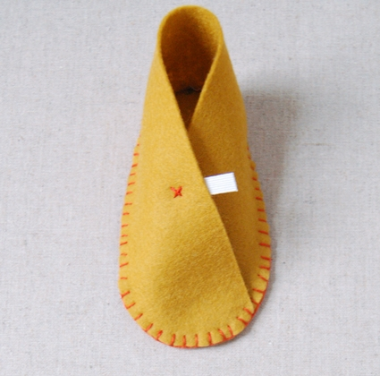 Felt Baby Shoes | Purl Soho