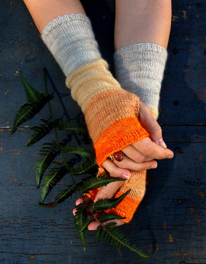 Colorblock Hand Warmers | Purl Soho
