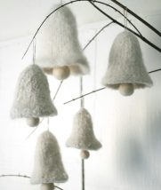Felted Bell Ornaments | Purl Soho