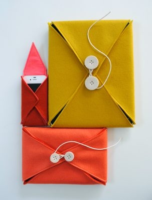 Felt Electronics Cases | Purl Soho