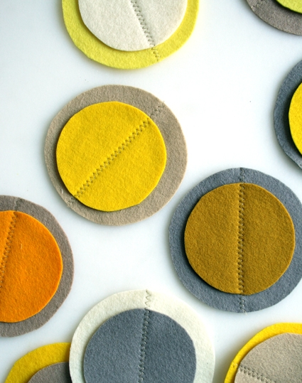 Gold and Silver Coasters | Purl Soho