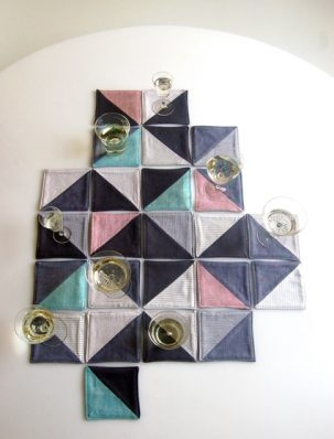 Molly's Sketchbook: New Year's Eve Coasters | Purl Soho