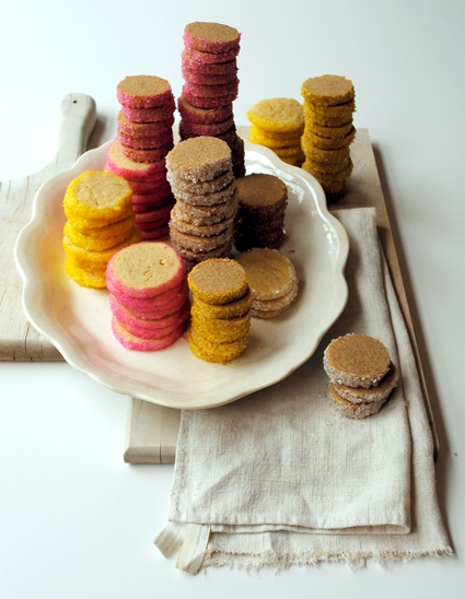 Sparkling Coin Cookies Recipe! Happy Holidays from Purl Soho! | Purl Soho
