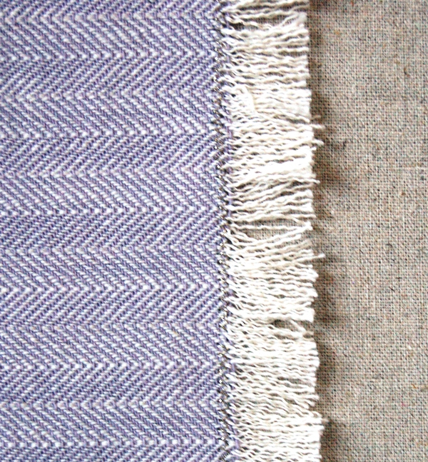 Spring Herringbone Throw | Purl Soho