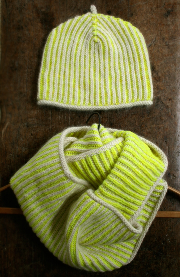 Gina's Brioche Hat and Cowl | Purl Soho