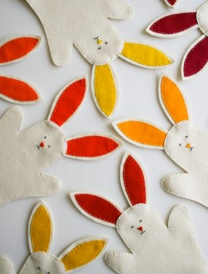 Bunny Hand Puppets | Purl Soho
