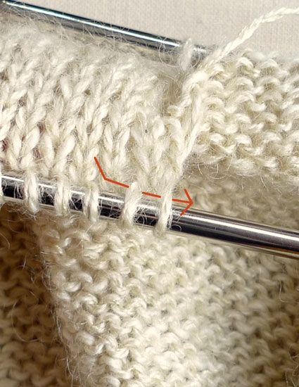 Knitting Stitches Purl Through Back Of Loop : Purl 2 Together Through Back Loop (p2tog tbl) or Slip Slip Purl (ssp) Purl ...