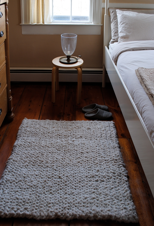 Big Stitch Knit Rug | Purl Soho