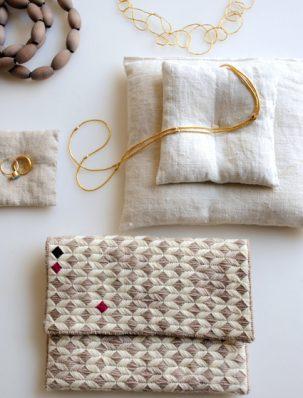 New Year's Needlepoint Clutch | Purl Soho