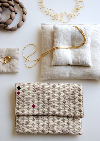 New Year's Needlepoint Clutch | Purl Soho