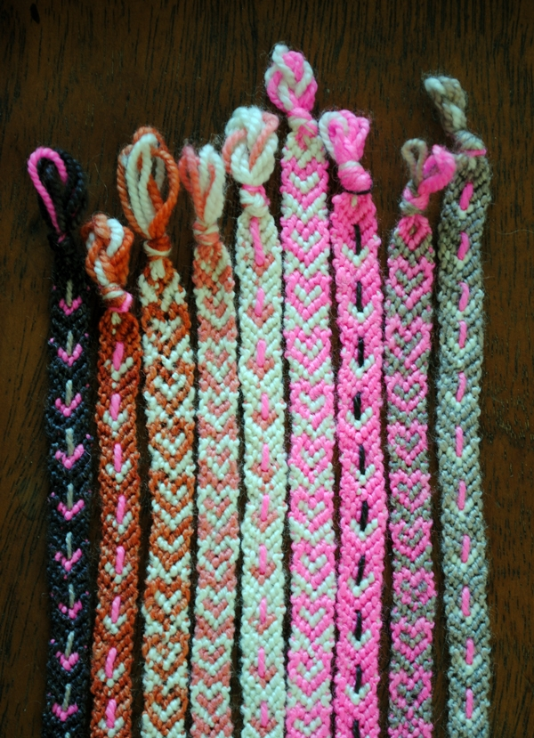 Valentineu0027s Friendship Bracelets | Purl Soho