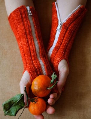 Zippered Hand Warmers | Purl Soho