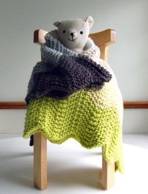 Chevron Baby Blanket | Purl Soho