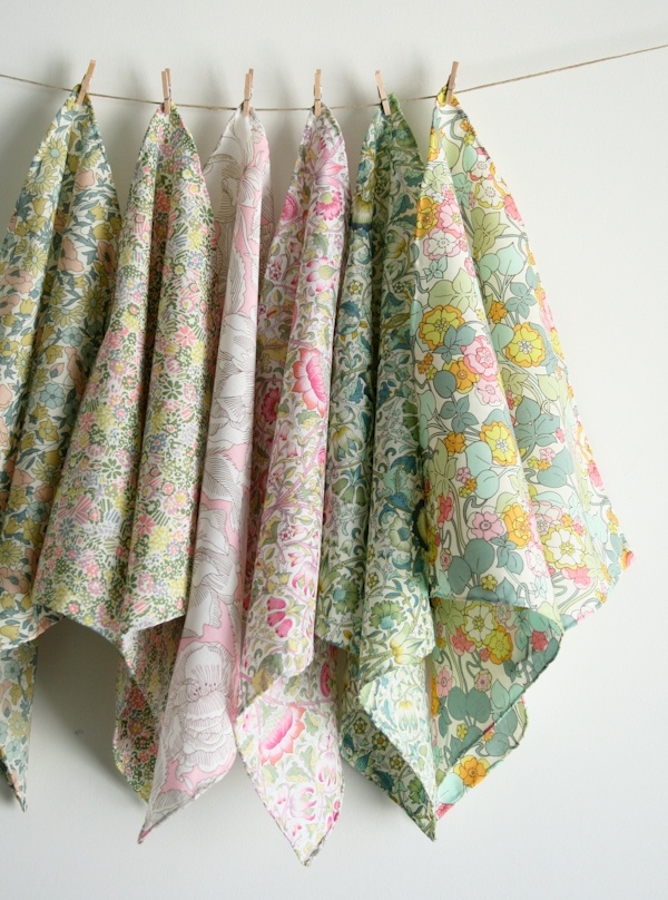 Mother's Day Liberty Handkerchief Set | Purl Soho