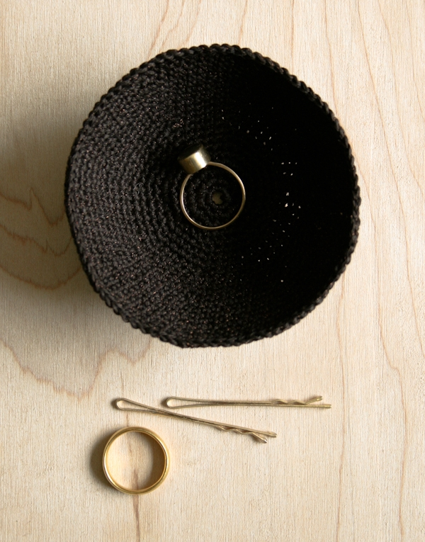 Crocheted Jewelry Dishes | Purl Soho